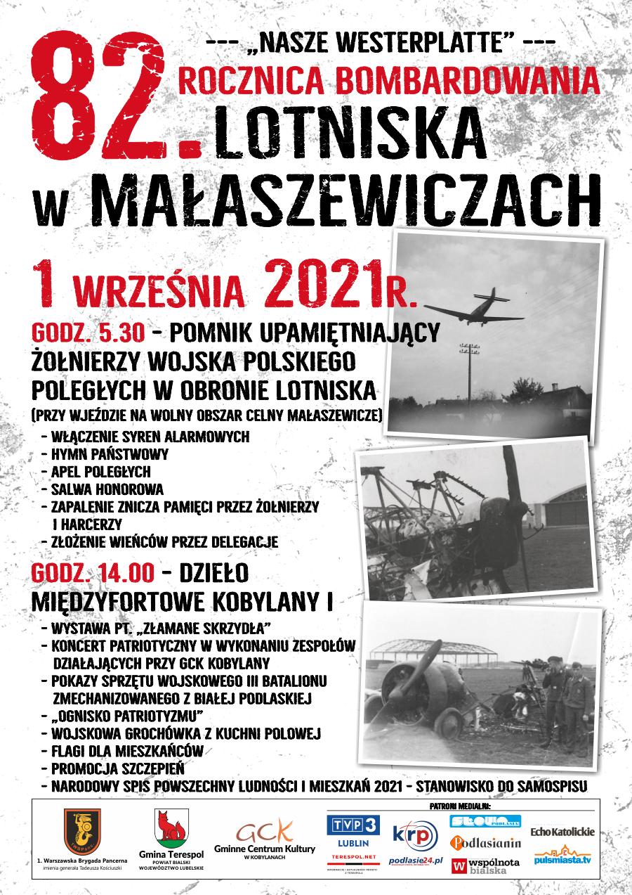 82. Rocznica bombardowania Lotniska w Małaszewiczach
