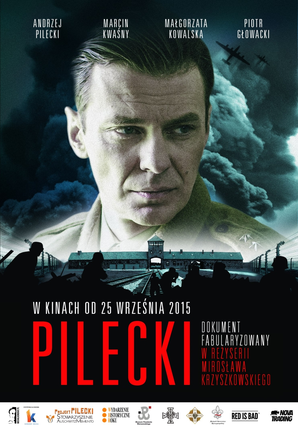 """GMINNE CENTRUM KULTURY ZAPRASZA NA FILM """"PILECKI"""""""
