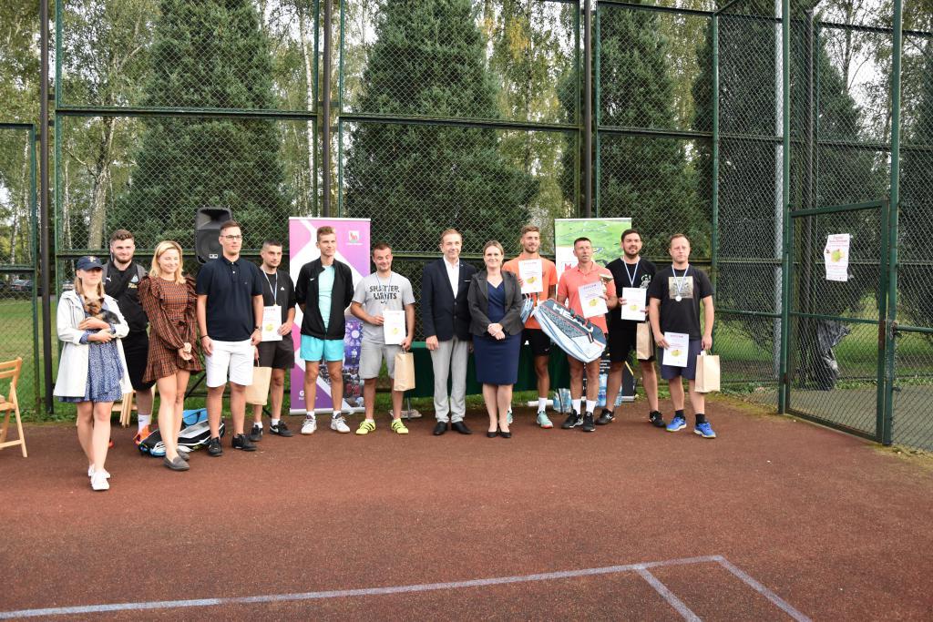 Turniej Tenisa Ziemnego w grze podwójnej mężczyzn o Puchar Wójta Gminy Terespol